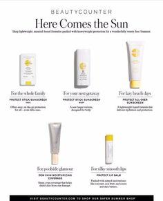 Switch to a non nano zinc oxide sunscreen vs. a chemical one! http://www.beautycounter.com/stephheldermidkiff?goto=body-hair.html