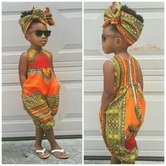 US 2019 Infant Baby Girls Kids African Jumpsuit Clothes Toddler Playsuit Outfit - fashion - Kids Outfit African Inspired Fashion, African Print Fashion, Africa Fashion, African Fashion Dresses, African Attire, African Wear, African Style, Ankara Fashion, African Prints