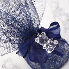 Teddy Bear - Clear - 144/pk | eFavorMart / Wholesale Clear Baby Teddy Bear For Shower Favors Gift Decoration - 144/pk