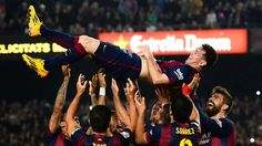 - RESULT: Lionel Messi's hat trick gave Barcelona an emphatic win over Sevilla Fc Barcelona, Lionel Messi Barcelona, Barcelona Football, Barcelona Catalonia, Rugby, Nfl, Messi Photos, Free Football, Football Soccer