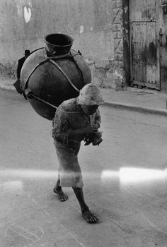 Sergio Larrain BOLIVIA. Potosi. 1957. Potosi is a city in the middle of the Andes which was the most important silver mining town in the Spa...