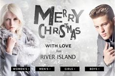 River Island newsletter email