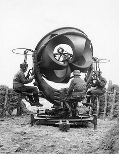 sekigan:  Searching the air via sound. Holland | machine | Pinterest