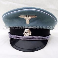 0c565f63012 German soldiers woolen cloth totenkopf skull and eagles militaria headpiece  caps insignia replicas for sale Hat