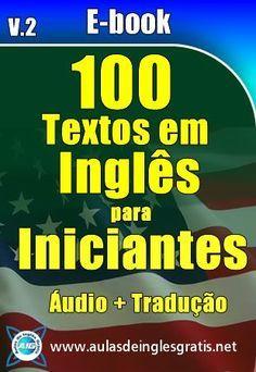 Baixar os 100 Textos em Inglês para Iniciantes com áudio