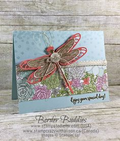 Dragonfly Dreams Stamp Set and Designer Paper That Will Leave a Lasting Impression