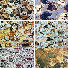 Just an example of some of the  fabrics available of Dogs and Puppies at  www.PushPinsAndFabricCorkBoards.com  to make a custom, unique, FABRIC COVERED CORK BULLETIN BOARD to match your decor, as a gift to someone who loves DOGS, or, be creative and make a collage of beautiful Dogs and Puppies wall art in four standard sizes.  Add coordinating or contrasting message ribbons and Top it off with matching or DECORATIVE PUSH PINS in the Decorative Push Pins department. Fabric Corkboard, Cork Bulletin Boards, Fabric Wall Art, Carousels, Business Products, Interior Designing, Wall Art Pictures, Love To Shop, Fabric Covered