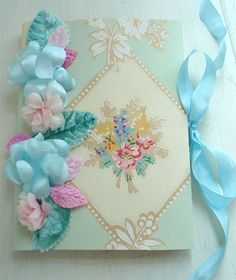 pretty ribbon flowers books