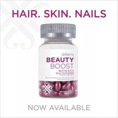 This vitamin-packed supplement not only has all of the essential vitamins and minerals your body needs, it also has an extra boost of Biotin and other vitamins that will help maintain beautiful hair, skin and nails. http://christinesnailwraps.jamberrynails.net