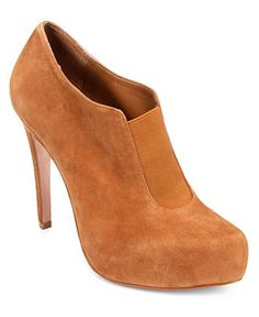 BCBGeneration Booties, Priyah Platform Shooties - Boots - Shoes - Macy's