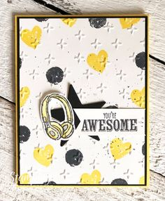 Stampin' Up! Cards   Cardmaking Ideas   Handmade Greeting Cards   Paper Crafts   Masculine cards   Birthday Cards   Cards for Boys   Cards for Kids   Simple Cards   Mixing Unloved with Loved Products   Sale-a-Bration 2018 Have Supplies you haven't used in a while? Dust them off and see what you can make!