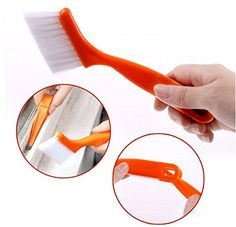 2 in 1 Window Groove Cleaning Brush Nook Cranny Household Keyboard Home Kitchen Folding Tool-10pcs #Affiliate