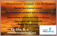 It is possible to heal attachment issues