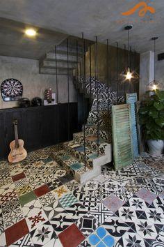[ĐN]- Memory Hostel với kiến trúc retro mang đầy hơi thở đương đại. Bài viết Foody.vn