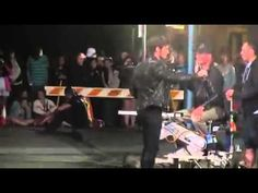Filming the aftermath of the dagger scene - Behind the scenes 5x01 | Gravação OUAT - YouTube