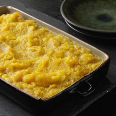 Photo by: Taste of Home Butternut Squash Casserole Recipe Rating 4.88 100% would make again Read reviews (7) Rate recipe When Mom didn't couldn't get sweet potatoes in Zimbabwe, she substituted this creamy casserole, adding sweetness and spice to butternut squash. It soon became a family favorite. —Susan Hansen Auburn, Alabama 7 Rate Print Grocery List Recipe Box Email