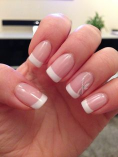 Untitled Mascara is usually a cosmetic commonly would once boost the eyelashes. French Manicure Nail Designs, French Tip Nails, Nail Manicure, Gel Nails, French Manicures, Cute Acrylic Nails, Cute Nails, Pretty Nails, Elegant Nails