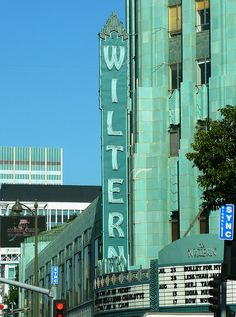 Los Angeles, CA Wiltern Theater. My sister in laws mom worked at the Wiltern. Got to see Johnny Mathis there. It was great!