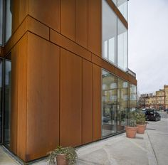 Metal Buildings - An Overview Metal Building Kits, Steel Building Homes, Building Ideas, Steel Barns, Weathering Steel, Rusted Metal, Steel Buildings, Metal Homes, Facade Architecture