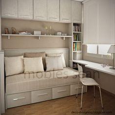 Este es el resultado de un proyecto que ya pusimos en el blog. Aquí finalmente podemos ver como queda la habitación. Esta es la r...