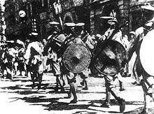Northern Expedition - The National Revolutionary Army soldiers marched into the British concessions in Hankou during the Northern Expedition. Wikipedia, the free encyclopedia