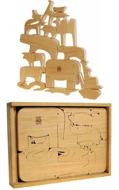 Enzo Mari | 16 animali ✭ mid century kids design ✭ vintage toy