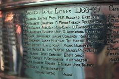 Toronto Maple Leafs, 1967 Stanley Cup Champions