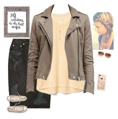 """""""Shopping day (I wish)"""" by dominiquemcain ❤ liked on Polyvore featuring Ksubi, Gap, EF Collection, Kate Spade, Coach, Converse and country"""