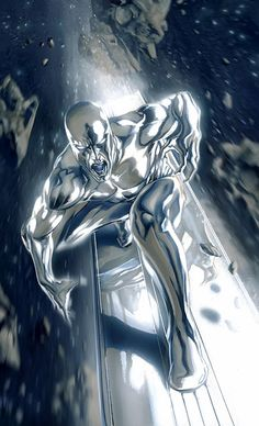 """Silver Surfer ❤❦♪♫Thanks, Pinterest Pinners, for stopping by, viewing, re-pinning, & following my boards. Have a beautiful day! ^..^ and """"Feel free to share on Pinterest. #fashionupdates ❤❦♪♫!♥✿´¯`*•.¸¸✿♥✿´♥✿´¯`*•.¸¸✿♥✿´¯`♡♥♡♥"""