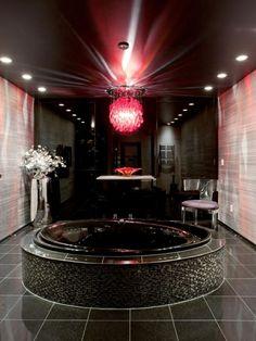 Luxus badezimmer schwarz  Badezimmer schwarz-weiß grauer weiss grau schwarz | Badezimmer ...