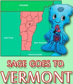 We Are All The Same Inside ® Sage goes to Vermont (circa. 2011).