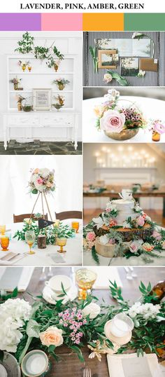 This color palette perfectly captures spring without making your special day look like an easter egg | photos by The Schultzes