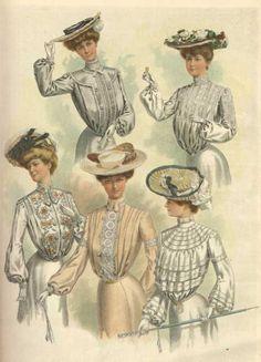1903 Fashion plate