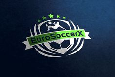 Logo for German company which provides unforgettable soccer trips to Europe for talented players and youth teams to develop your soccer skills and explore Europe's soccer culture. #graphicdesign #logodesign #logo #identity #branding #brandidentity #corporatestyle #logodesigner #graphicdesigner #logodesigns #brand #businesslogo #professionallogo #design #graphics #illustrator #illustration #font #type #typeface #designer #icon #symbol #logoaday #art #soccer #football http://eurosoccerx.com/