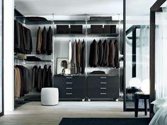 interior de vestidor