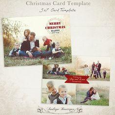 Schöne Weihnachten / Holiday Card Template Stellen Sie sicher, das Sie auch heraus überprüfen: