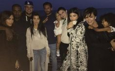 Familia Kardashian Jenner celebró el cumpleaños de Rob