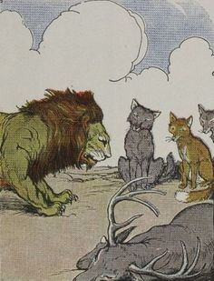 La scelta del leone - Dell'alleanza col potente non ci si può mai fidare