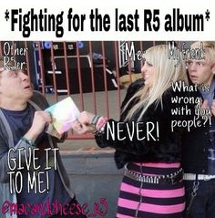 This is going to be me when the new album comes out!