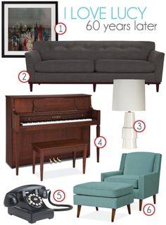I Love Lucy Furniture