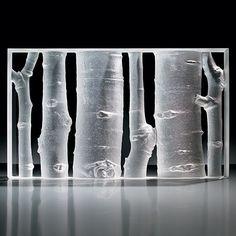 Steuben Glass Peter Drobny Aspen Glade