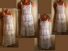 White Woman Boho Dress, White cotton lace Dress, short Hippie Bridal Gown, Casual dress, Beach Dress, White Rustic Dress, Ethnic Clothing, M by OLEANDR on Etsy