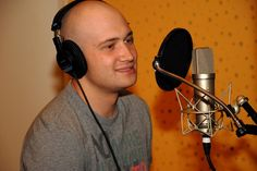 Actor Mihai Bendeac voice-over. Over Ear Headphones, Studios, Artists, Artist