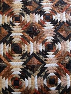 Pieced by Carol Hanel Quilted by Jessica's Quilting Studio Bargello Quilts, Scrappy Quilts, Mini Quilts, Pineapple Quilt Pattern, Pineapple Quilt Block, Cute Quilts, Small Quilts, Quilting Projects, Quilting Designs