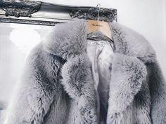 Faux Fur | Grey   #fauxfur #faux #fur #grey #outfit #jacket #winter #fashion #style #tones #classic #minimal