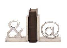 Deco 79 49662 Aluminum & Marble Bookend Pair Deco 79 https://www.amazon.com/dp/B01CEB88Y2/ref=cm_sw_r_pi_dp_x_EPAuzb64KBX84
