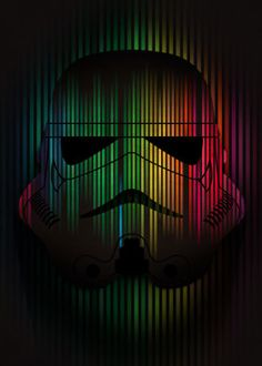 Unique Star Wars Stormtrooper Helmets collection of prints on metal. Browse 53 posters and find something you like. Plant 1 tree for each Displate purchased. Masque Star Wars, Star Wars Masks, Star Wars Art, Barcode Art, Drawing Stars, Star Wars Prints, Star Wars Wallpaper, Star Wars Poster, Poster Making