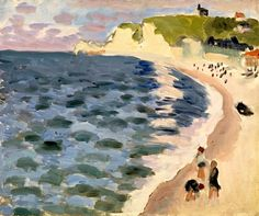 Etretat, The Sea, 1921 - Henri Matisse