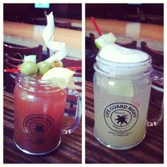 Margaritas and Bloody Marys with your Lifeguard Night mug! Mugs still available for purchase! #drinklocal