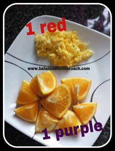 21 Day Fix Breakfast or Lunch: 2 eggs red) and 1 medium orange purple) Day Fix Recipes Eggs) 21 Day Fix Recipies, Low Gi Diet, 21 Day Fix Breakfast, 21 Day Fix Diet, 21 Day Fix Meal Plan, Recipe 21, Eat Smart, 2 Eggs, Meal Planning